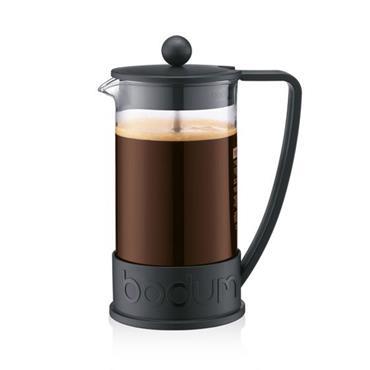Bodum Brazil French Press Coffee Maker Black 1L