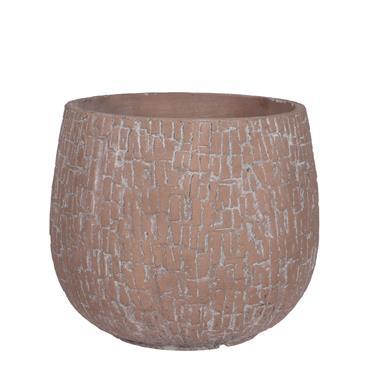Edelman Bart Pot Round Terracotta