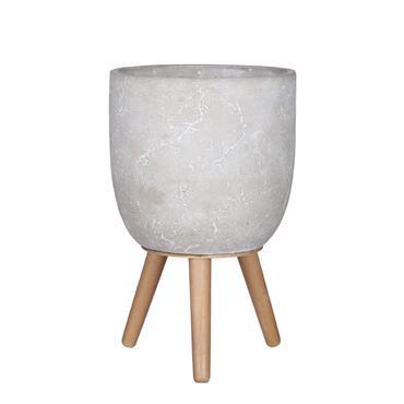 Edelman Jimmy Pot On Stand Light Grey