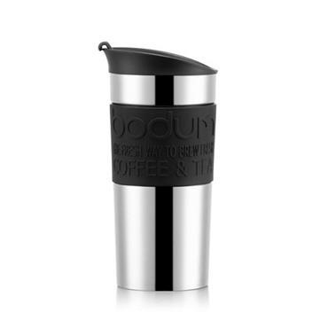Bodum Travel Vacuum Mug Black 350ml