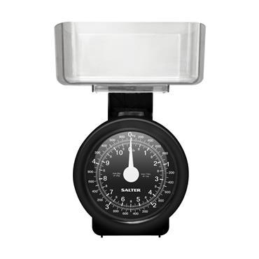 Salter 5kg Kitchen Scales Black