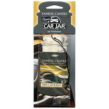 Yankee Candle Single Car Jar New Car Fragrance