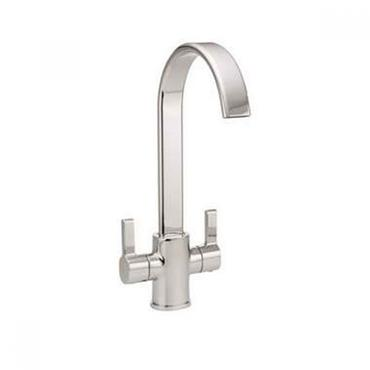 Luss Twin Cruciform Kitchen Sink Mixer Tap