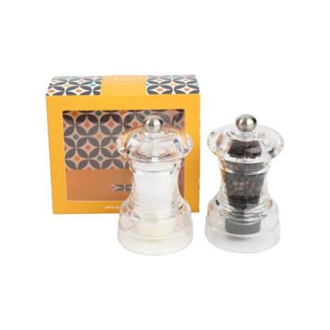 Capstan Mill Set In Clear Acrylic Boxed