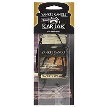 Yankee Candle Single Car Jar Black Coconut
