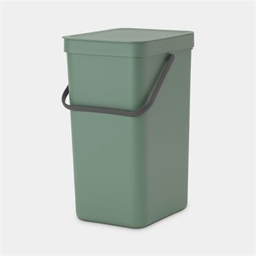 Brabantia Sort & Go Waste Bin Fir Green 16L