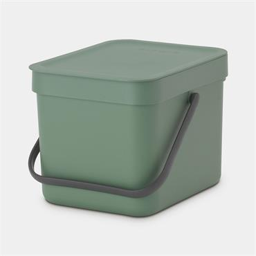Brabantia Sort & Go Waste Bin Fir Green 6L
