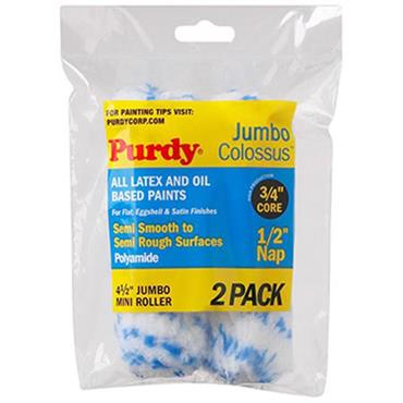 """Purdy 4.5"""" Colossus Jumbo 2pk Rollers"""
