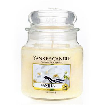 Yankee Candle Classic Vanilla Medium Jar