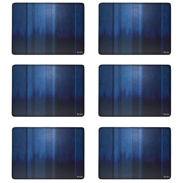 Denby Colours Blue Placemats 6pk