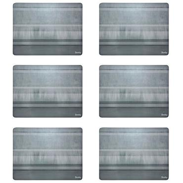 Denby Colours Grey Placemats 6pk