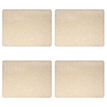 Denby Monsoon Lucille Gold Placemats 4pk