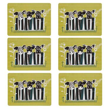 Denby Cow Placemats 6pk
