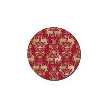 Denby Red & Gold Round 6 Placemats