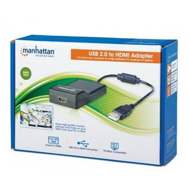 Manhattan USB 2.0 to HDMI Adapter