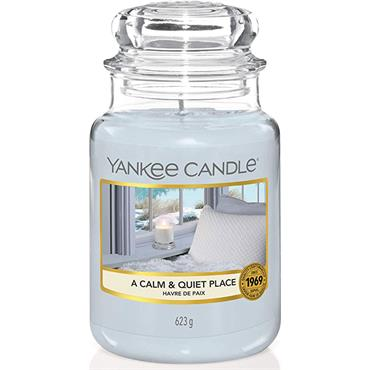 Yankee Candle A Calm And Quite Place Large Jar