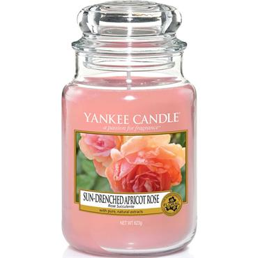 Yankee Candle Large Jar Sun Drenched Apricot Rose