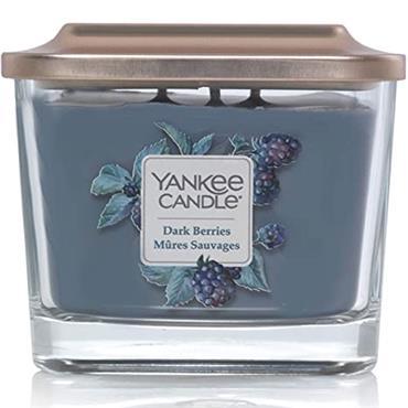 Yankee Candle Elevation Medium Jar Dark Berries