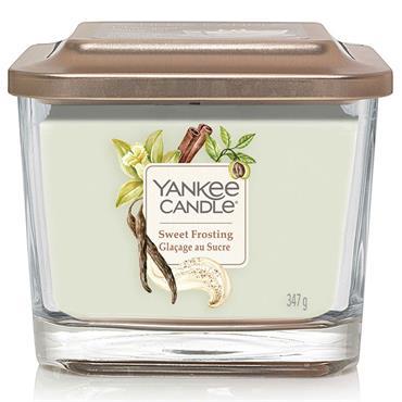 Yankee Candle Elevation Medium Jar Sweet Frosting