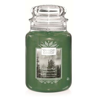 Yankee Candle Large Jar Evergreen Mist