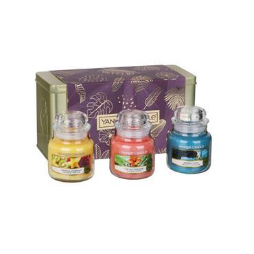 Yankee Candle 3 Small Jar Gift Set