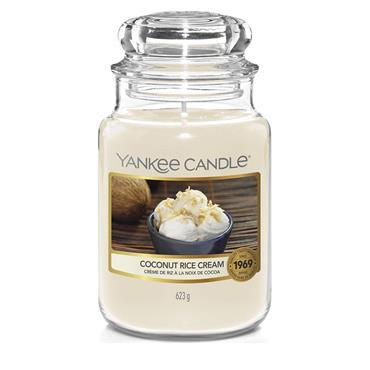 Yankee Candle  Coconut Rice Cream Large  Jar