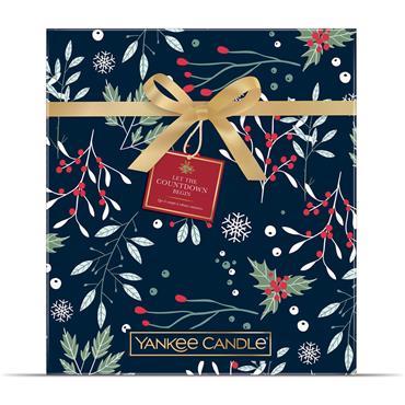 Yankee Candle Christmas Advent Calendar Book Gift Set