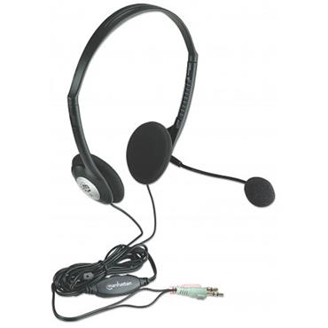 Manhattan Stereo Headset Lightweight With Microphone