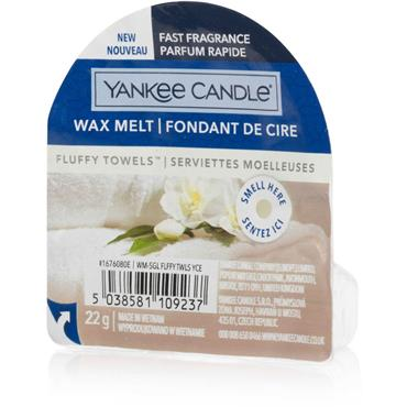 Yankee Candle Wax Melt Fluffy Towels
