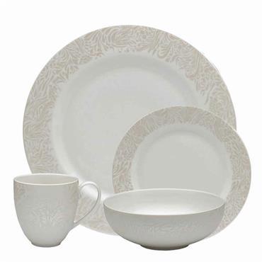 Denby Monsoon Lucille Gold Tableware Set 16pce