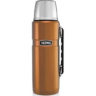 Thermos Stainless Steel King Flask Copper 1.2L