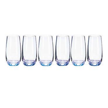 Newgrange Unicorn Lustre Hi Ball Glasses 53cl 6pk
