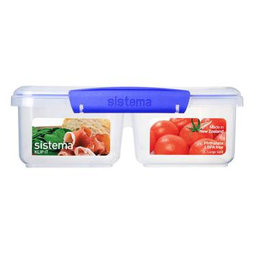 Sistema Rectangular Split Container 2L