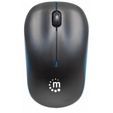 Manhattan Success Wireless Optic Mouse Blue / Black