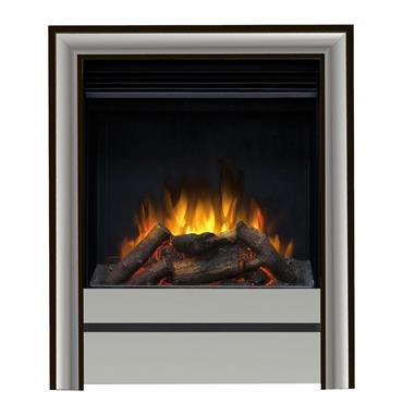 "Elgin & Hall 16"" Chollerton Inset Electric Fire Chrome"