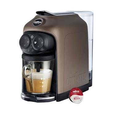 Lavazza Desea Brown Walnut Coffee Maker