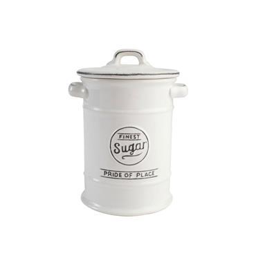 Pride Of Place Sugar Jar White