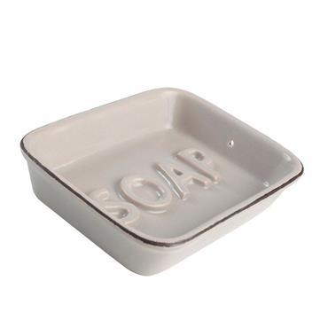 Ocean Soap Dish Grey