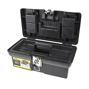 "Stanley 12.5"" Metal Latch Tool Box"