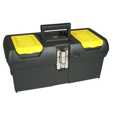 "Stanley 16"" Metal Latch Tool Box"