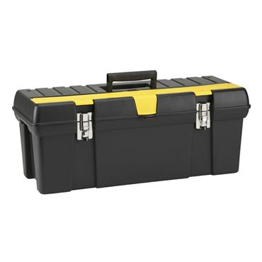 "Stanley 19"" Metal Latch Tool Box"
