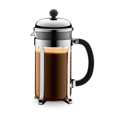 Bodum Chambord French Press Stainless Steel 1L