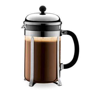 Bodum Chambord French Press Stainless Steel 1.5L