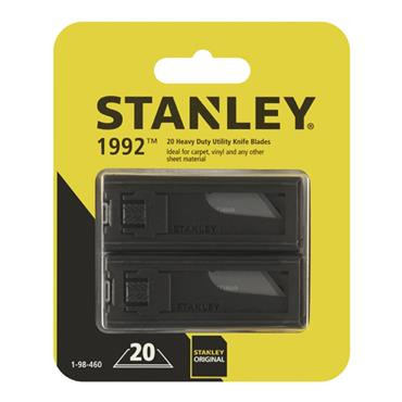 Stanley Knife Blade Twin Pack ( 2 X 10pk)