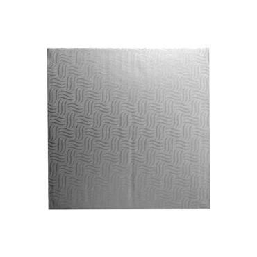 "Mason Cash 14""(35cm)  X 12mm Square Silver Cake Drum"