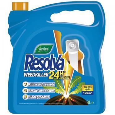 Resolva Weedkiller 24H RTU 3L