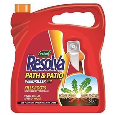Resolva Path & Drive Weedkiller RTU 3L