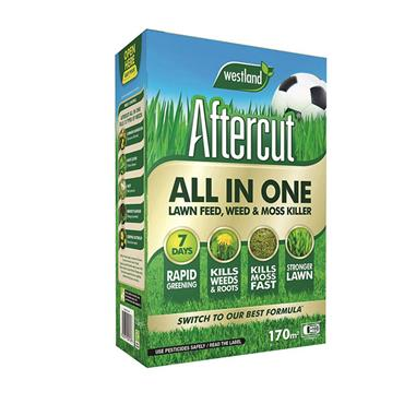 Westland Aftercut All-In-One Lawn Feed Weed & Moss Killer