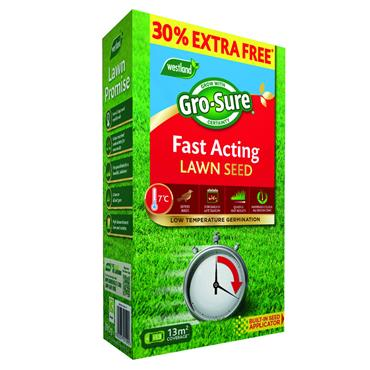 GroSure Fast Acting Lawn Seed