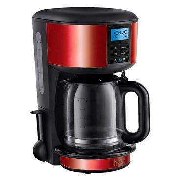 Russell Hobbs 1.25L Coffee Maker Red
